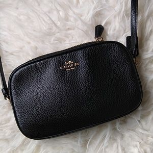 384387a48655 Coach Bags - Black Coach Sadie Crossbody Clutch